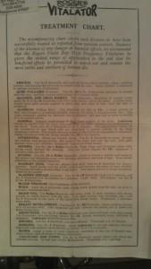 Dalbeattie museum Vitalator ailments