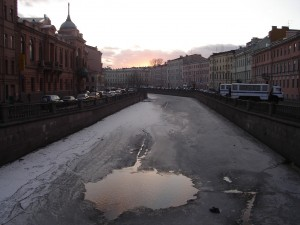 St Petersburg canal