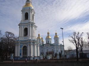 St Nicholas cathedral, St Petersburg