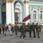 St Petersburg soldiers