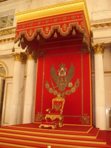 Hermitage state rooms, St Petersburg
