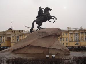 Bronze Horseman statue, St Petersburg
