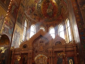 Mosaic church, St Petersburg