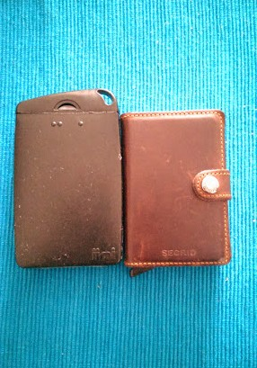 Secrid wallet Jimi wallet size comparison