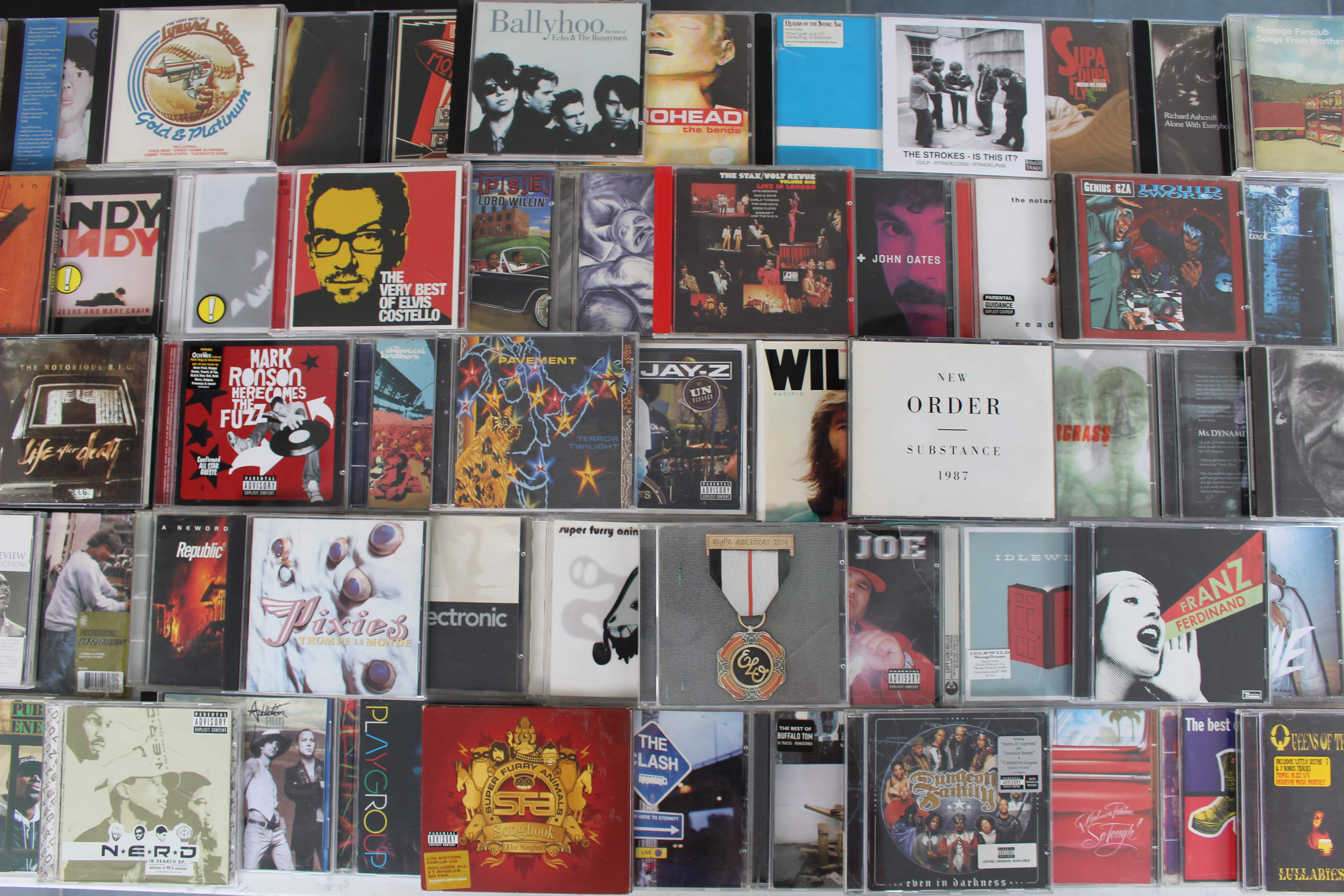 90s 00s CD collection 6