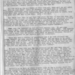 Bill Honeyman D-Day letter page 1
