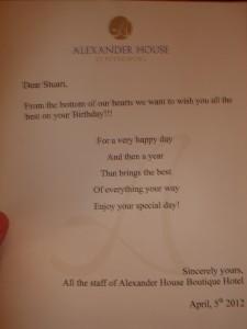 Alexander House hotel, St Petersburg